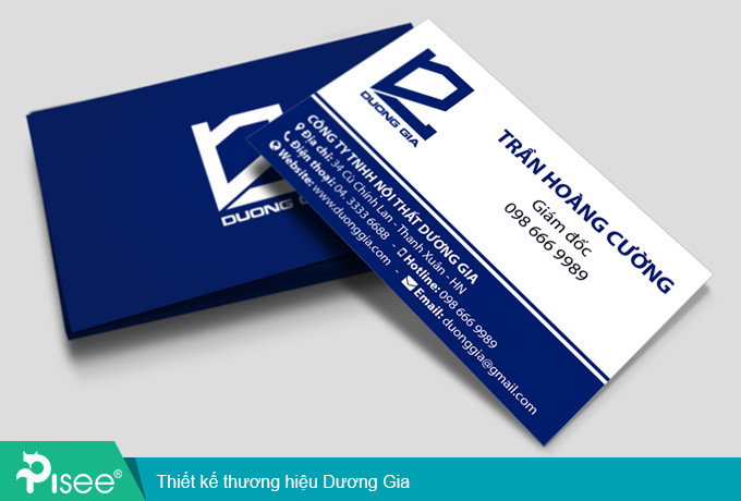 thiết kế Business card