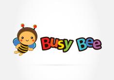 Thiết kế logo thương hiệu Trường mầm non Busy Bee