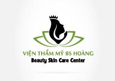 Thiết kế logo thương hiệu Viện thẩm mỹ BS Hoàng