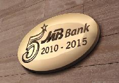 Thiết kế logo sự kiện 5 năm thành lập NH Quân Đội – chi nhánh MB Lào