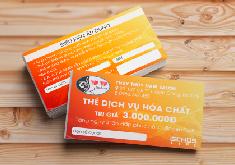 Thiết kế các hạng mục thẻ khách hàng thương hiệu Thủy Thủy Spa