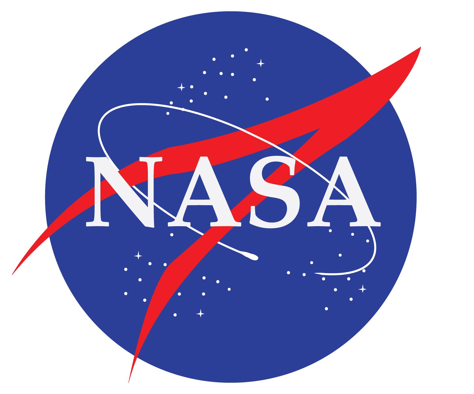 hình tròn trong thiết kế logo NASA