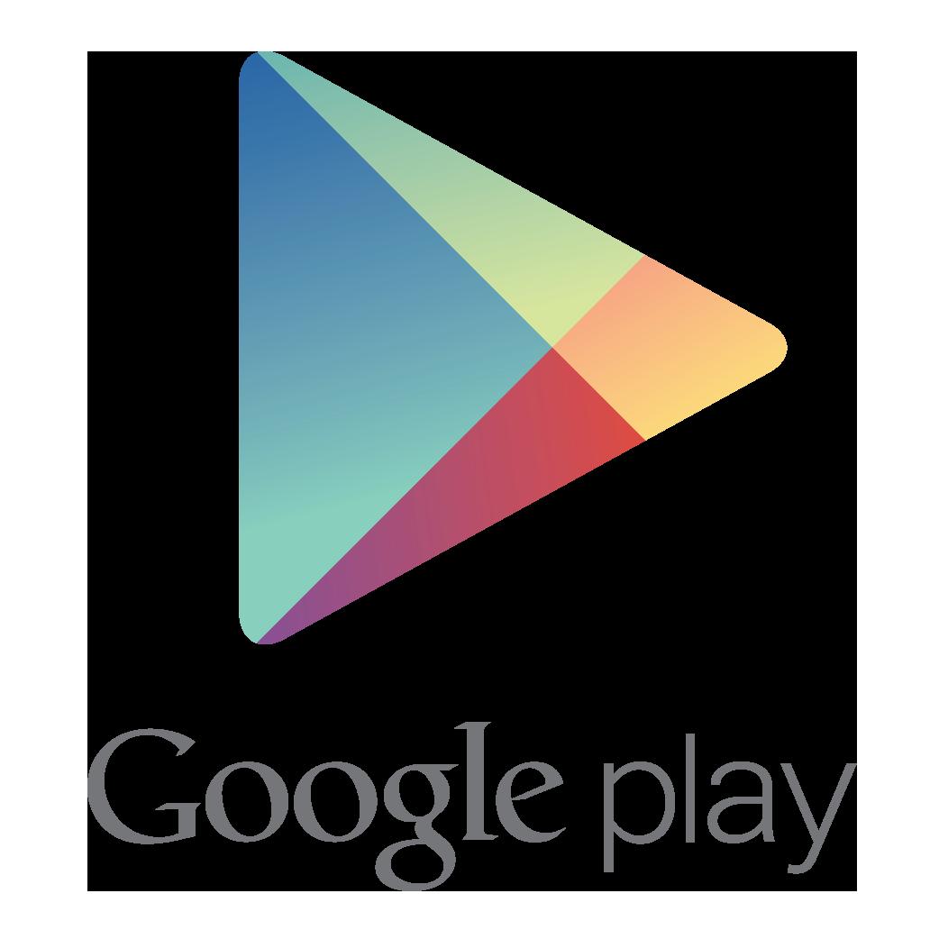 hình tam giác trong thiết kế logo Google Play