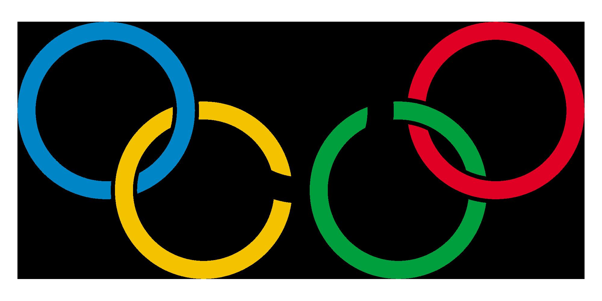 hình tròn trong thiết kế logo olympic