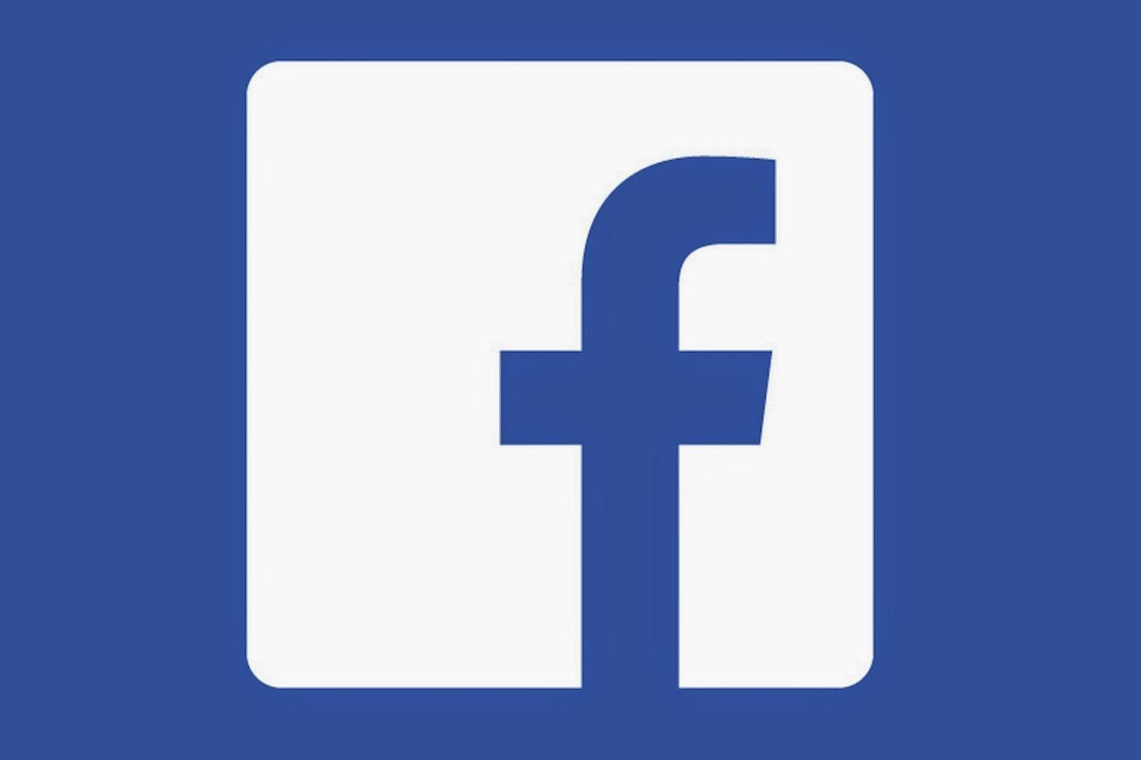 hình vuông trong thiết kế logo facebook